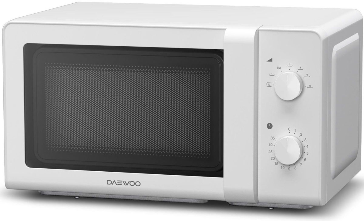 Daewoo KOR-6627W, White СВЧ-печь - Микроволновые печи