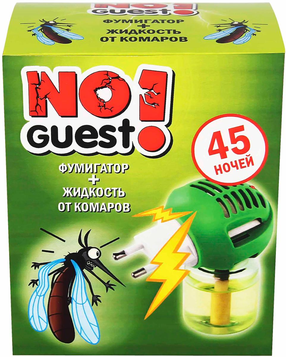 """Жидкость от комаров """"NoGuest!"""", 45 ночей + электрофумигатор, 30 мл"""
