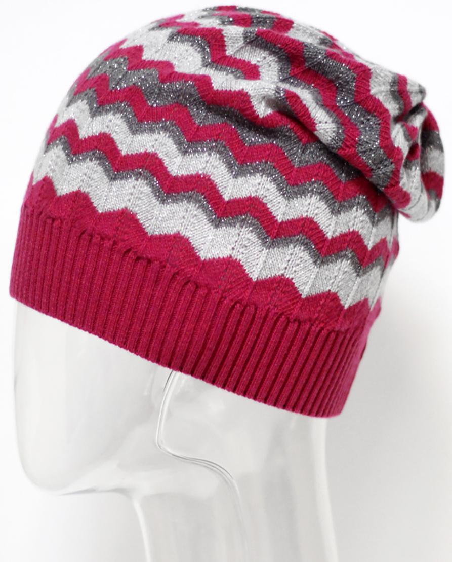 Шапка женская Marhatter, цвет: фуксия. MWH5675. Размер 56/58MWH5675Стильная шапка, выполнена из пряжи с содержанием кашемира и шерсти мериноса, добавит уникальность вашему образу. Данная модель мягкая и комфортная на ощупь, отличный вариант на каждый день.