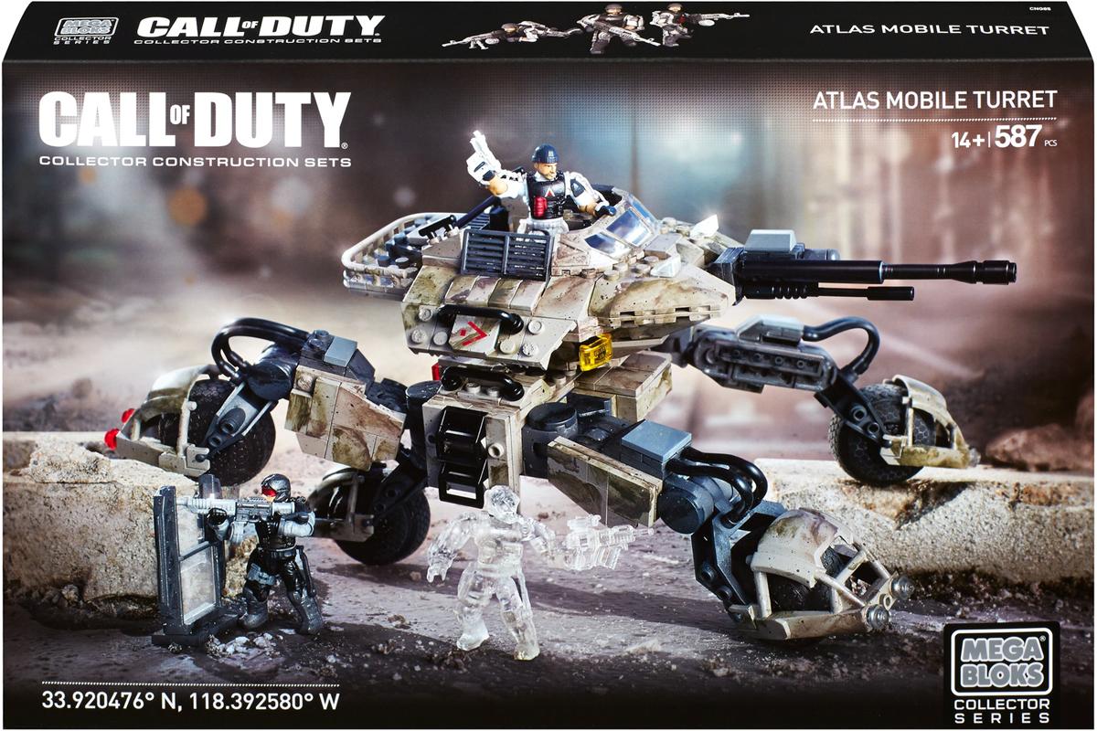Mega Bloks Call Of Duty Конструктор Atlas, Mega Bloks/Mega Construx, Конструкторы  - купить со скидкой