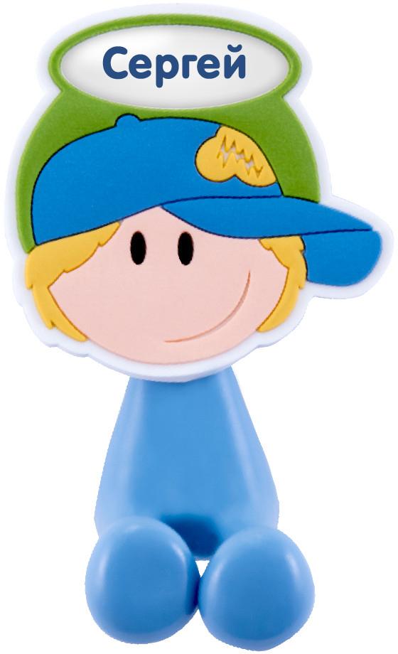 Держатель для зубной щетки Би-Хэппи Сергей, 4 х 6 х 3,5 смД-82Держатель для зубной щетки Би-Хэппи - это яркий, оригинальный и практичный аксессуар, выполнен в виде мультяшных мальчишек и девчонок,от которых будут в восторге не только дети, но и взрослые. Разместив в своей ванной комнате держатели для зубных щеток Би-Хэппи, вы получите массу плюсов, к примеру:- зубная щетка каждого из членов семьи будет иметь свое место;- гигиенические свойства личного аксессуара будут сохранены на длительный период времени;- обстановка в комнате станет позитивней;- держатель крепится с помощью присоски, поэтому в любой момент, при желании, его можно переместить в другое место;- малыш будет с удовольствием выполнять рутинные гигиенические процедуры.Держатель для зубной щетки Би-Хэппистанет отличным подарком для большой и крепкой семьи.