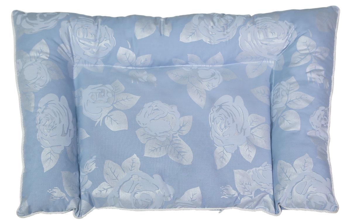Bio-Textiles Подушка детская Малышка наполнитель лузга гречихи цвет голубой 40 х 60 см M032M032