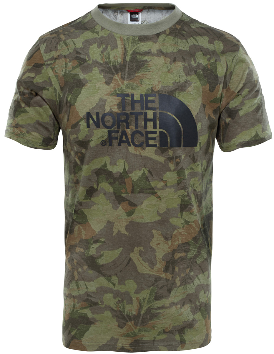 Футболка мужская The North Face M S/S Easy Tee, цвет: хаки. T92TX31TH. Размер XXL (56) сорочка avanua safire черный s m