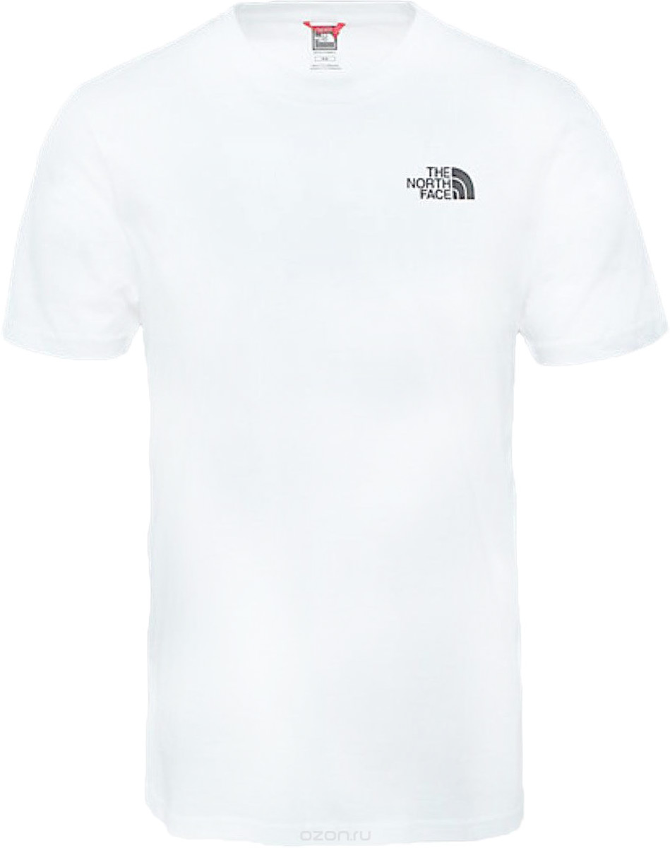 Футболка мужская The North Face M Ss Simple Dome Tee, цвет: белый. T92TX5FN4. Размер XXL (56) ladies gift new style watch enmex creative design starlight in the night sky simple face steel band quartz fashion wristwatch
