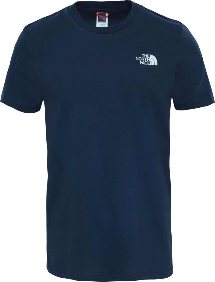 Футболка мужская The North Face M Ss Simple Dome Tee, цвет: синий. T92TX5M6S. Размер XXL (56) футболка the north face