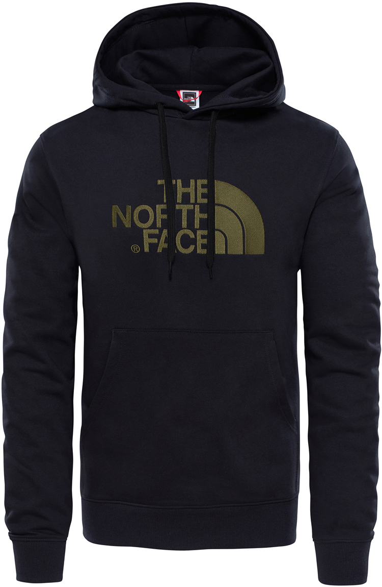 Худи мужское The North Face M Lt Drew Peak Po Hd, цвет: черный. T0A0TETY1. Размер XXL (56) кепка the north face the north face five panel cap черный os