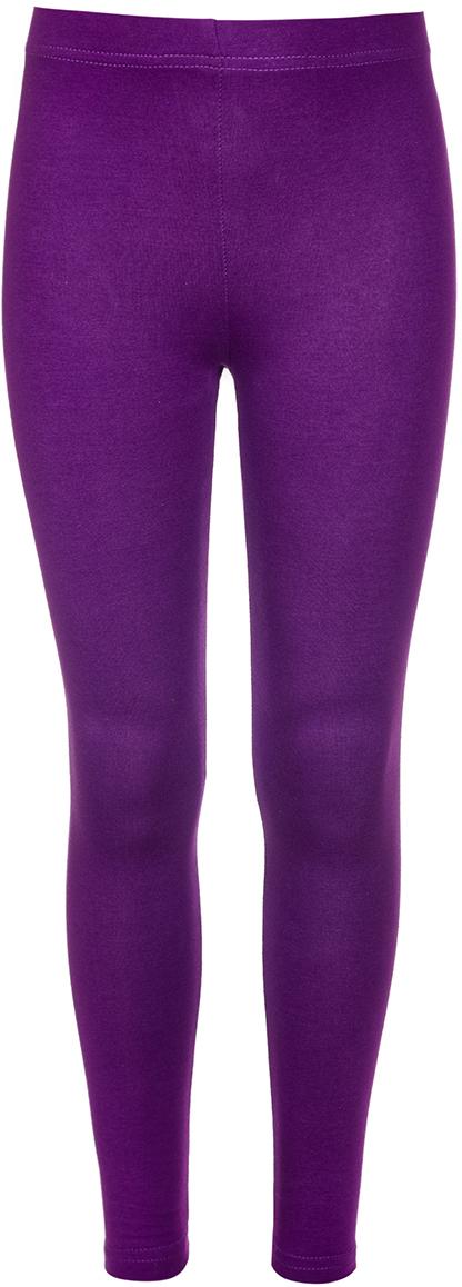 Леггинсы для девочки M&D, цвет: фиолетовый. 18227020112_12. Размер 12218227020112_12Леггинсы для девочки от M&D выполнены из эластичного хлопка. Модель прилегающего силуэта, дополнена поясом на резинке.