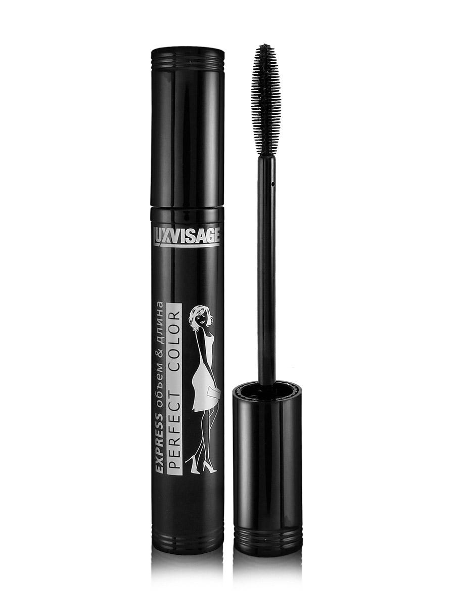 LUXVISAGE Тушь Perfect Color Express Объем-Длина, 9 г косметические карандаши luxvisage карандаш для бровей luxvisage тон 104