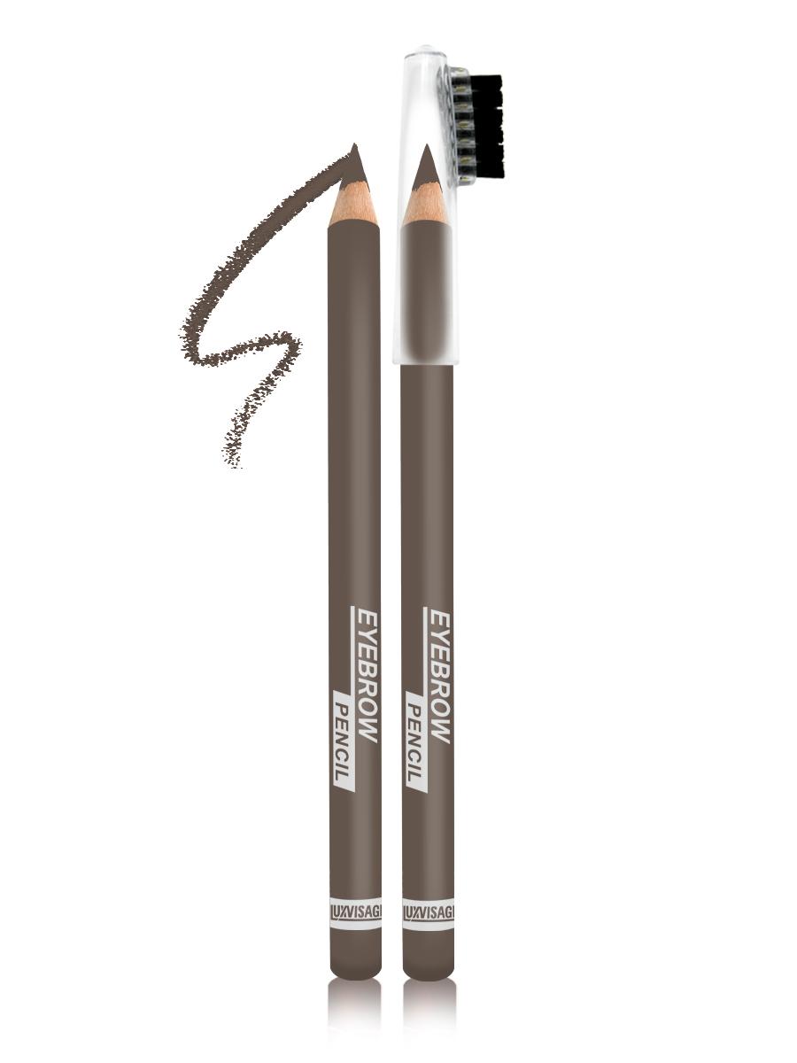 LUXVISAGE Карандаш для бровей, тон 101, 1,14 г4811329018395Карандаш для бровей LUXVISAGE, тон 101Чтобы бровки всегда выглядели красивыми и ухоженными карандаш для бровей Eyebrow Pencil от белорусского производителя Luxvisage лучшее решение. Это чудесное средство поможет создать идеальную форму бровей легко и быстро. В его состав входят ухаживающие компоненты, благодаря которым продукт не раздражает кожу. Стержень данного карандаша обладает оптимальной структурой, поэтому не крошится и не размазывается, обеспечивая равномерное покрытие. На колпачке имеется щеточка для придания плавности линиям и их растушевки. Карандаш обладает высокой стойкостью.