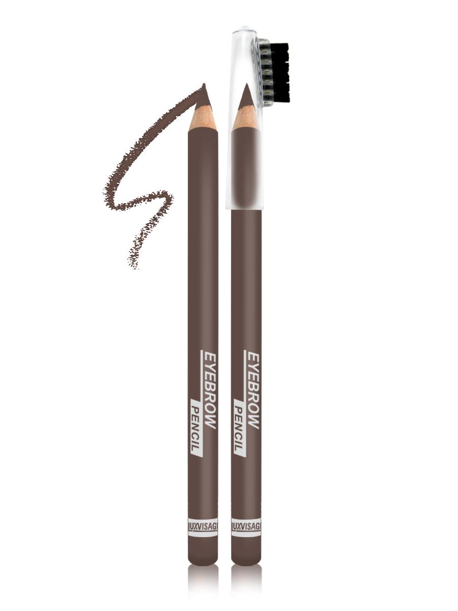 LUXVISAGE Карандаш для бровей, тон 102, 1,14 г4811329018401Карандаш для бровей LUXVISAGE, тон 102Чтобы бровки всегда выглядели красивыми и ухоженными карандаш для бровей Eyebrow Pencil от белорусского производителя Luxvisage лучшее решение. Это чудесное средство поможет создать идеальную форму бровей легко и быстро. В его состав входят ухаживающие компоненты, благодаря которым продукт не раздражает кожу. Стержень данного карандаша обладает оптимальной структурой, поэтому не крошится и не размазывается, обеспечивая равномерное покрытие. На колпачке имеется щеточка для придания плавности линиям и их растушевки. Карандаш обладает высокой стойкостью.