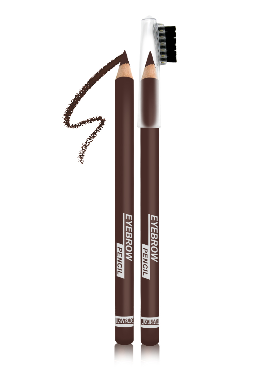 LUXVISAGE Карандаш для бровей, тон 103, 1,14 г4811329018418Карандаш для бровей LUXVISAGE, тон 103Чтобы бровки всегда выглядели красивыми и ухоженными карандаш для бровей Eyebrow Pencil от белорусского производителя Luxvisage лучшее решение. Это чудесное средство поможет создать идеальную форму бровей легко и быстро. В его состав входят ухаживающие компоненты, благодаря которым продукт не раздражает кожу. Стержень данного карандаша обладает оптимальной структурой, поэтому не крошится и не размазывается, обеспечивая равномерное покрытие. На колпачке имеется щеточка для придания плавности линиям и их растушевки. Карандаш обладает высокой стойкостью.