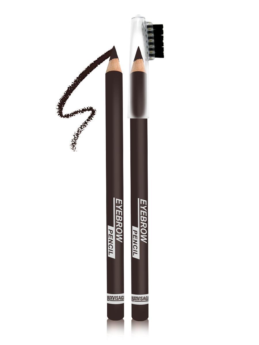 LUXVISAGE Карандаш для бровей, тон 104, 1,14 г4811329018425Карандаш для бровей LUXVISAGE, тон 104Чтобы бровки всегда выглядели красивыми и ухоженными карандаш для бровей Eyebrow Pencil от белорусского производителя Luxvisage лучшее решение. Это чудесное средство поможет создать идеальную форму бровей легко и быстро. В его состав входят ухаживающие компоненты, благодаря которым продукт не раздражает кожу. Стержень данного карандаша обладает оптимальной структурой, поэтому не крошится и не размазывается, обеспечивая равномерное покрытие. На колпачке имеется щеточка для придания плавности линиям и их растушевки. Карандаш обладает высокой стойкостью.