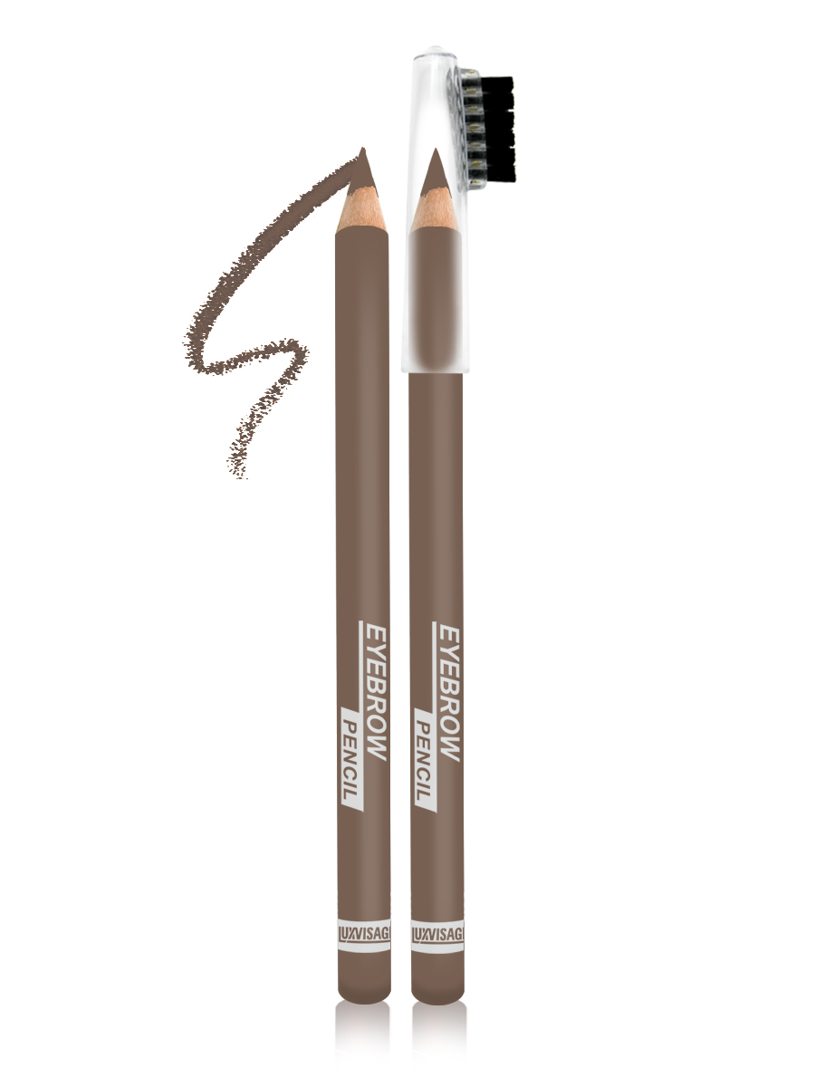 LUXVISAGE Карандаш для бровей, тон 100, 1,14 г4811329022217Карандаш для бровей LUXVISAGE, тон 100Чтобы бровки всегда выглядели красивыми и ухоженными карандаш для бровей Eyebrow Pencil от белорусского производителя Luxvisage лучшее решение. Это чудесное средство поможет создать идеальную форму бровей легко и быстро. В его состав входят ухаживающие компоненты, благодаря которым продукт не раздражает кожу. Стержень данного карандаша обладает оптимальной структурой, поэтому не крошится и не размазывается, обеспечивая равномерное покрытие. На колпачке имеется щеточка для придания плавности линиям и их растушевки. Карандаш обладает высокой стойкостью.