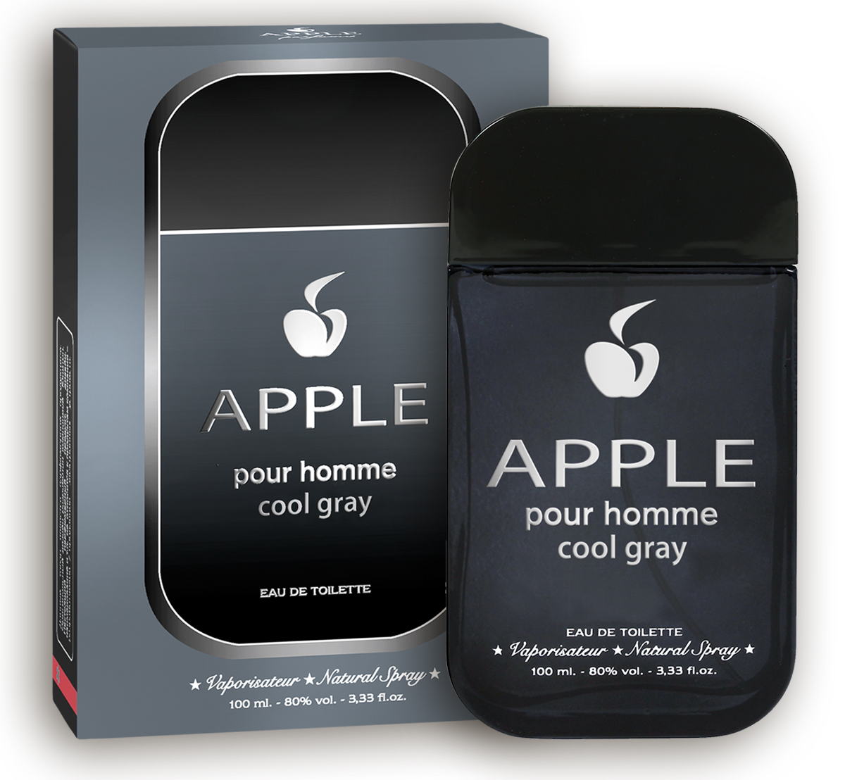 Apple Parfums Homme Cool Gray. Туалетная вода, 100 мл туалетная вода apple parfums эппл пур хомме джаст силвер apple homme just silver