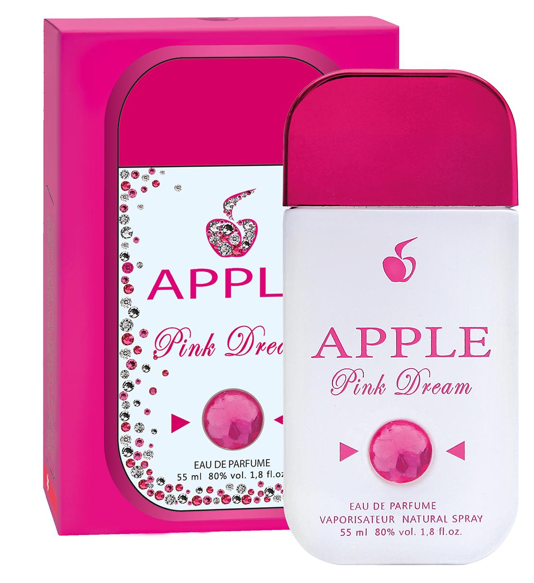 Apple Parfums Парфюмерная вода женская Pink Dream, 55 мл41261Немного кокетства, чуть-чуть озорства не испортят имидж этой деловой целеустремленной натуры. Но улыбка затаилась в уголках губ, блеск глаз надежно упрятан под ресницами. И только аромат своим упоительным цветочно-фруктовым дыханием предательски выдает и открытый веселый нрав, и нежность, и женственность. И губы ее подобны лепесткам розы, чей аромат ведет солирующую партию. И удивительная гармония вкусной страсти маракуйи с полутонами мускуса и чувственности женской натуры, возникающей в тот момент, когда аромат уже согрелся на теплой нежной коже. Так приятно сознавать, что этот необычный розовый флакончик своим образом удачно подчеркнул стиль, ароматом раскрыл красоту женской души!Классификация аромата: цветочно-фруктовый.Пирамида аромата: Основные ноты: бергамот, апельсин, маракуйя, лепестки розы, белая лилия, водяная лилия, сандал. Характеристики:Объем: 55 мл. Производитель: Россия. Самый популярный вид парфюмерной продукции на сегодняшний день - парфюмерная вода. Это объясняется оптимальным балансом цены и качества - с одной стороны, достаточно высокая концентрация экстракта (10-20% при 90% спирте), с другой - более доступная, по сравнению с духами, цена. У многих фирм парфюмерная вода - самый высокий по концентрации экстракта вид товара, т.к. далеко не все производители считают нужным (или возможным) выпускать свои ароматы в виде духов. Как правило, парфюмерная вода всегда в спрее-пульверизаторе, что удобно для использования и транспортировки. Так что если духи по какой-либо причине приобрести нельзя, парфюмерная вода, безусловно, - самая лучшая им замена.Товар сертифицирован.Уважаемые клиенты!Обращаем ваше внимание на возможные изменения в дизайне упаковки. Качественные характеристики товара остаются неизменными. Поставка осуществляется в зависимости от наличия на складе.Краткий гид по парфюмерии: виды, ноты, ароматы, советы по выбору. Статья OZON Гид