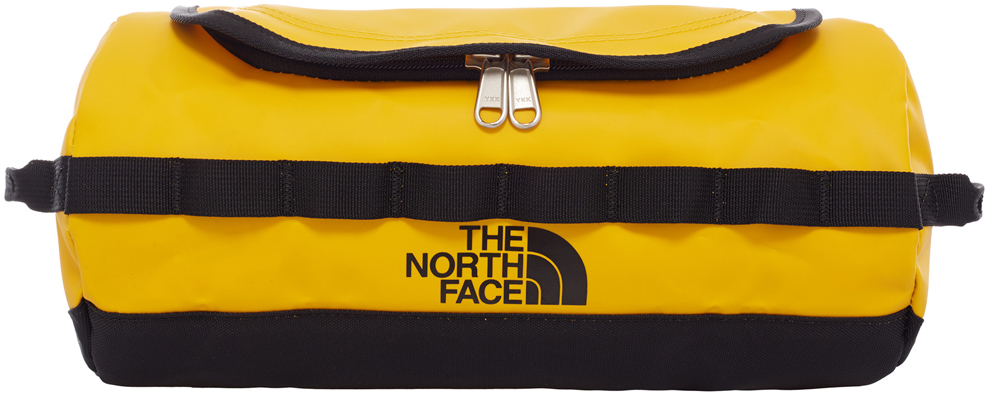 Косметичка The North Face Bc Travel Canister, цвет: желтый, 5,7 л. T0A6SRZU3T0A6SRZU3