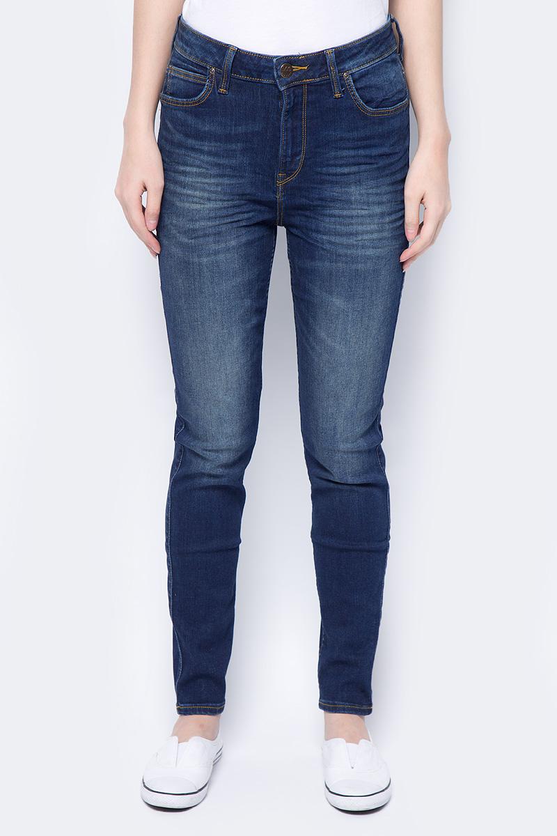 Джинсы женские Lee Scarlett High, цвет: синий. L626HAEL. Размер 30-31 (46-31) джинсы женские lee цвет синий l305aifa размер 30 35 46 35