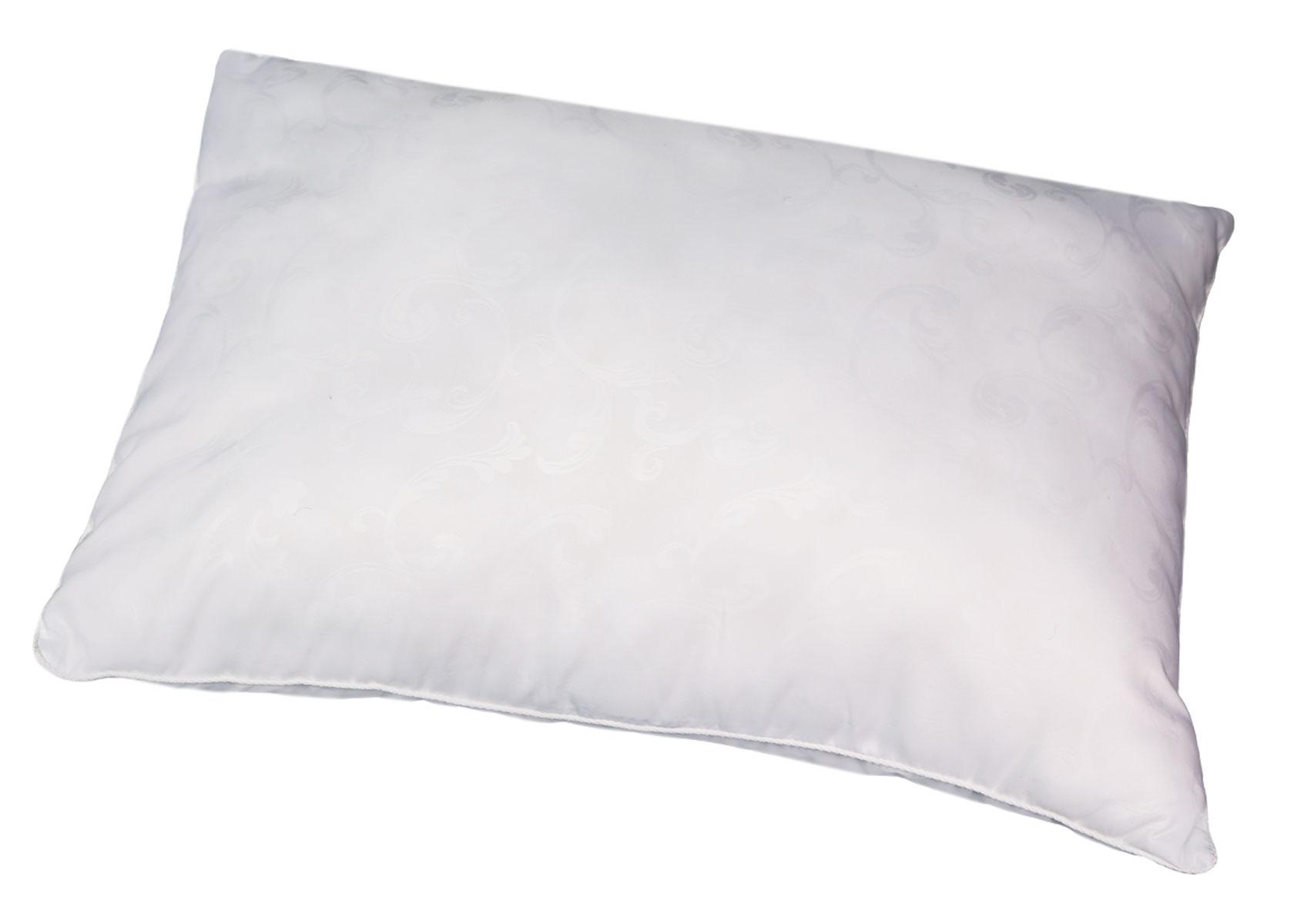 Подушка Bio-Textiles Сила природы, наполнитель: полиэстер, цвет: белый, 50 х 70 см. SP677SP677