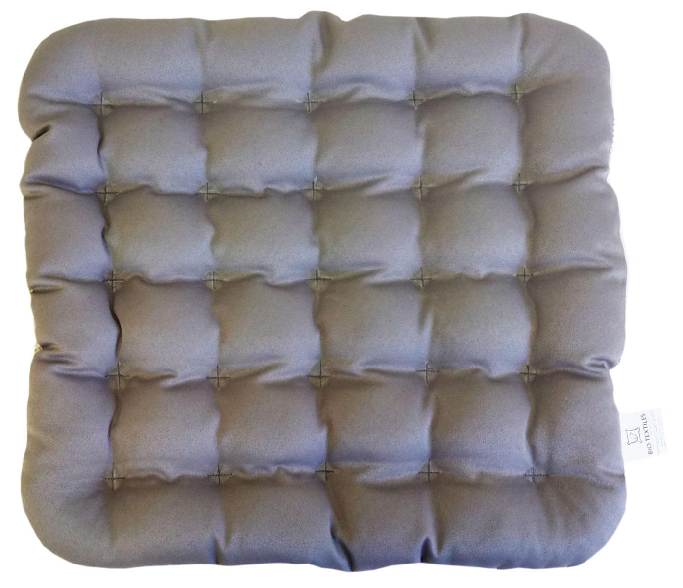 Подушка на стул Bio-Textiles Био, наполнитель: лузга гречихи, 40 х 40 см. PEK999PEK999