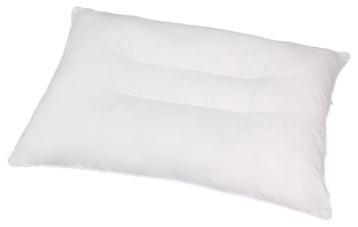 Правильная подушка - залог комфортного сна. Анатомическая подушка имеет плотный валик по  обеим сторонам, что позволяет ей фиксировать шейный отдел позвоночника в правильном  положении, она позволяет мышцам шеи расслабиться, а также помочь избавиться от храпа и  бессонницы. Разновидности исполнения подушек данной коллекции подарят вам право выбора  ткани и наполнителя.