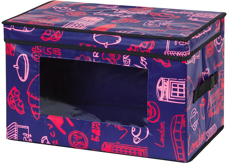 Кофр для хранения вещей El Casa Европа, складной, 38 х 25 х 25 см370374Вместительный кофр для хранения одежды и домашнего текстиля. Прозрачная вставка позволяет видеть содержимое кофра. Для удобства в обращении по бокам имеются ручки. Благодаря эстетичному дизайну кофр гармонично смотрится в любом интерьере. Размер 38х25х25 см.