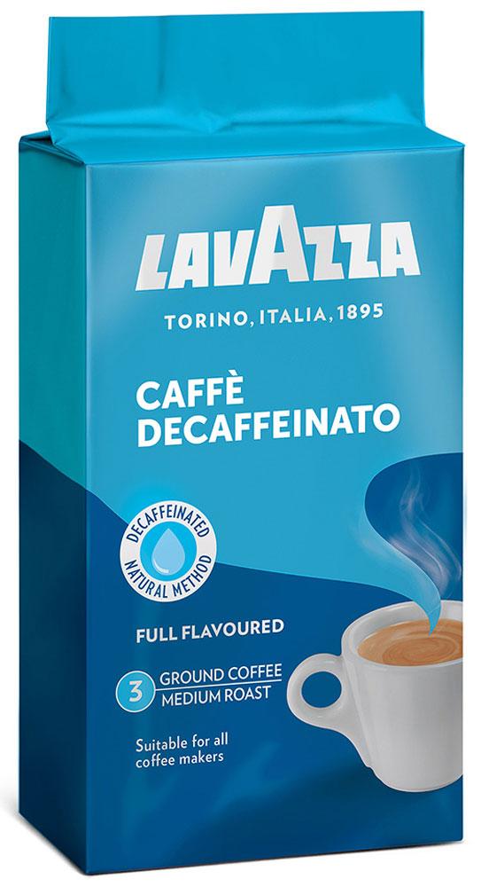 Lavazza Decaffeinato кофе молотый, 250 г (в/у) compagnia dell arabica caffe decaffeinato молотый кофе 250 г вакуумная упаковка
