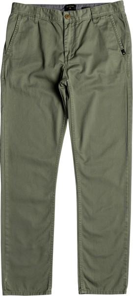 Брюки мужские Quiksilver, цвет: зеленый. EQYNP03136-GPH0. Размер 31 (46/48)EQYNP03136-GPH0