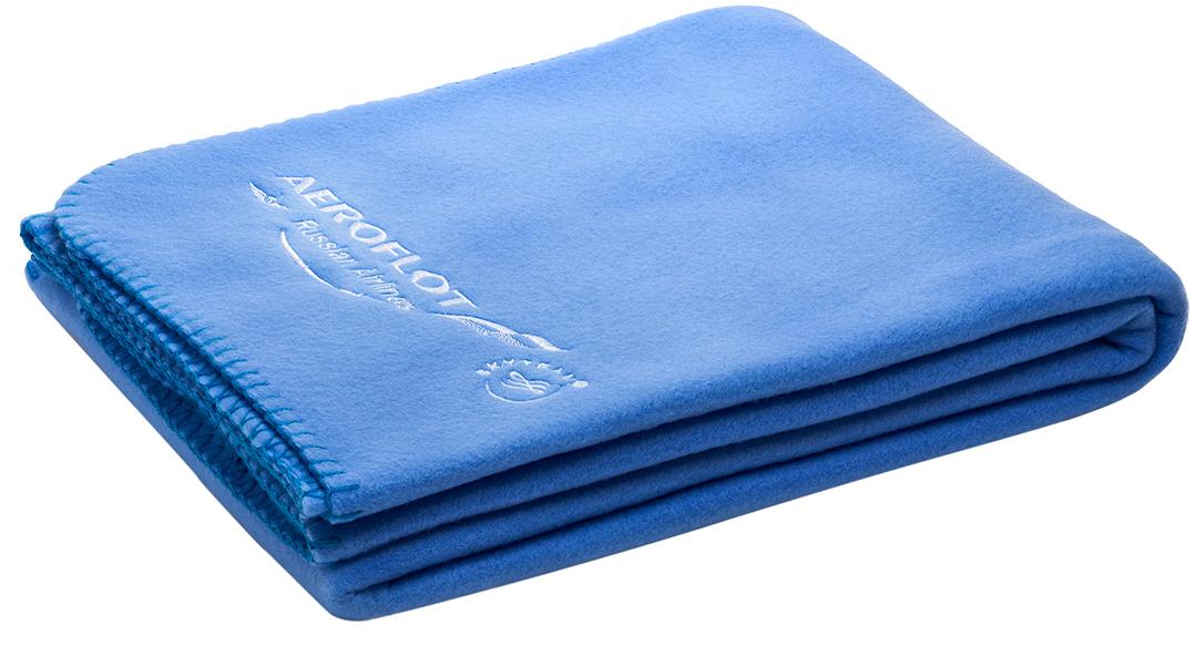 Плед Аэрофлот, цвет: голубой, 110 х 150 см2200001202Теплый, мягкий, легкий и нежный на ощупь флисовый плед согреет вас во время долгого путешествия. Простой в уходе, практически невесомый и очень компактный, он станет одним из любимых дорожных аксессуаров. Качество изделия (плотность): 280г/м2 Выкрас ткани по пантону с обеих сторон Обрамление нитками голубого цвета