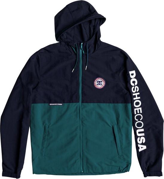 Куртка мужская DC Shoes, цвет: темно-синий, зеленый. EDYJK03149-GSR0. Размер XXL (54)