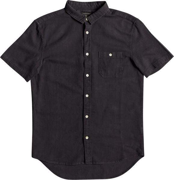 Рубашка мужская Quiksilver, цвет: черный. EQYWT03632-KTA0. Размер S (46) свитшот quiksilver quiksilver qu192ebpew61
