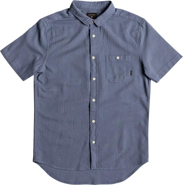 Рубашка мужская Quiksilver, цвет: синий. EQYWT03632-BYL0. Размер S (46)EQYWT03632-BYL0