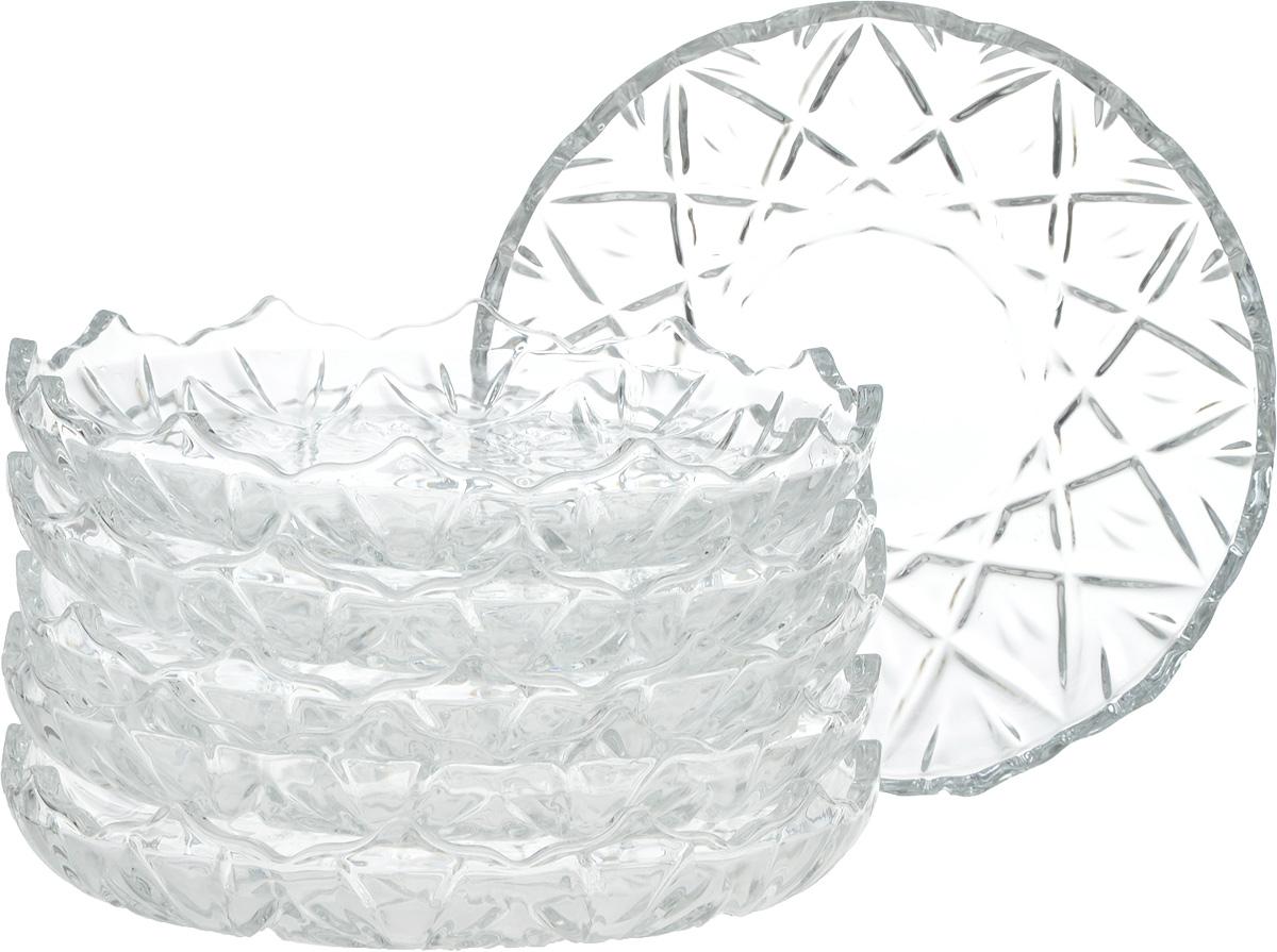Набор тарелок Isfahan Orkideh, диаметр 18 см, 6 шт545Набор из 6 тарелок, выполненных из высококачественного стекла, имеет изысканный внешний вид. Такая тарелка прекрасно подходит как для торжественных случаев, так и для повседневного использования.Идеальна для подачи десертов, пирожных, тортов и многого другого. Она прекрасно оформит стол и станет отличным дополнением к вашей коллекции кухонной посуды.