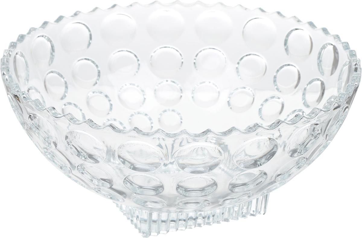 Салатник Isfahan Semiramis, диаметр 21 см908Салатник изготовлен из стекла, прекрасно подойдет для подачи различных блюд: закусок, салатов или фруктов.Такой салатник украсит ваш праздничный или обеденный стол, а оригинальный дизайн придется по вкусу и ценителям классики, и тем, кто предпочитает утонченность и изысканность.