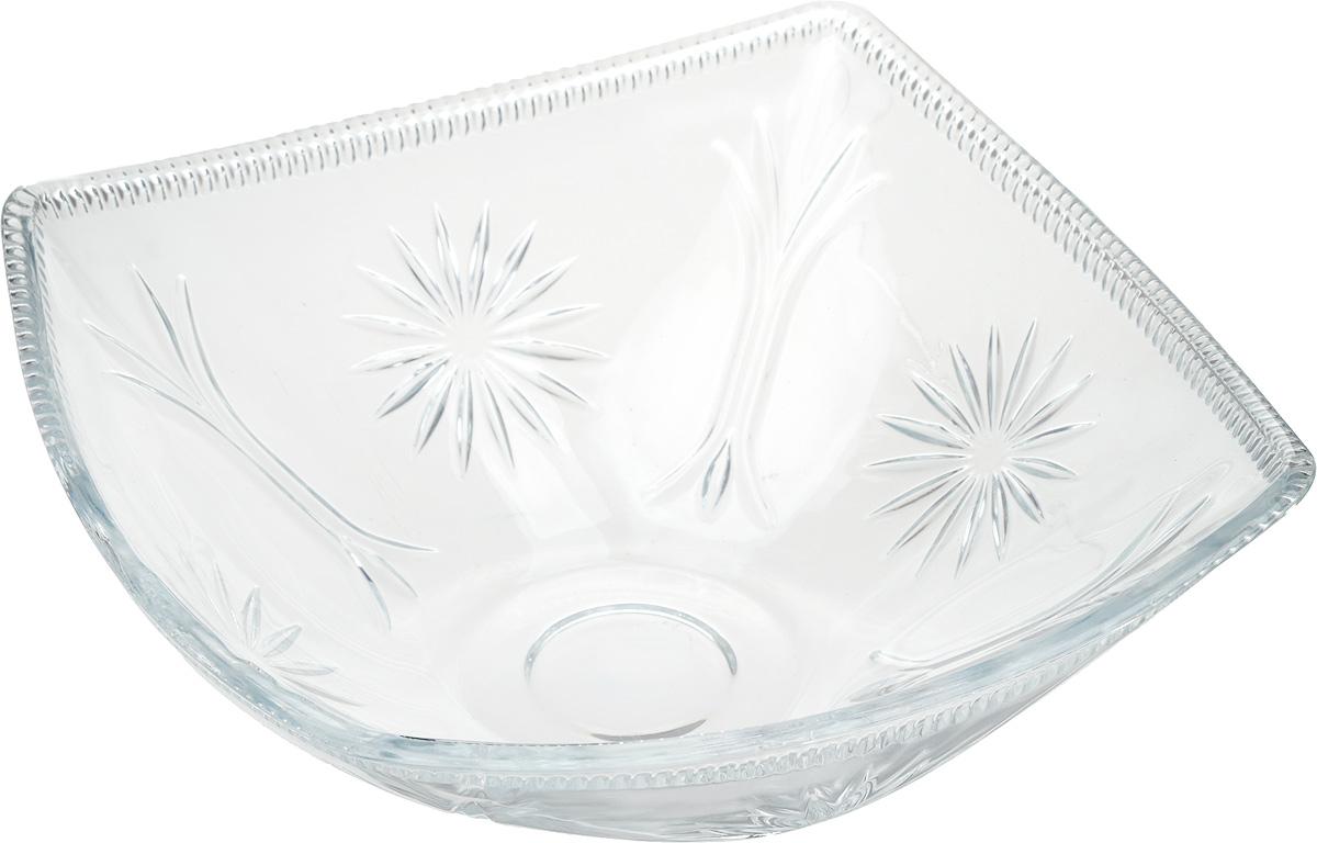 """Салатник Isfahan """"Mona Lisa"""", изготовленный из стекла, прекрасно подойдет для подачи  различных блюд: закусок, салатов или фруктов.  Такое изделие из иранского боросиликатного  стекла - новый тренд на рынке посуды. Оно легче хрусталя, но при этом выглядит достаточно  """"хрустально"""": те же грани, узоры, преломление света, блики, прозрачность, плавность краев и  устойчивость дна.  Такой салатник украсит ваш праздничный или обеденный стол, а  оригинальный дизайн придется по вкусу и ценителям классики, и тем, кто предпочитает  утонченность и изысканность."""