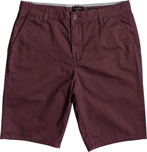 Шорты мужские Quiksilver, цвет: вишневый. EQYWS03468-RSC0. Размер 34 (50) шорты quiksilver wrk str sh summer blues