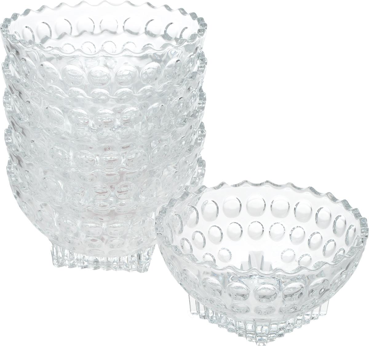 Набор салатников Isfahan Semiramis, диаметр 12 см, 6 шт907Салатник изготовлен из стекла, прекрасно подойдет для подачи различных блюд: закусок, салатов или фруктов.Такой салатник украсит ваш праздничный или обеденный стол, а оригинальный дизайн придется по вкусу и ценителям классики, и тем, кто предпочитает утонченность и изысканность.