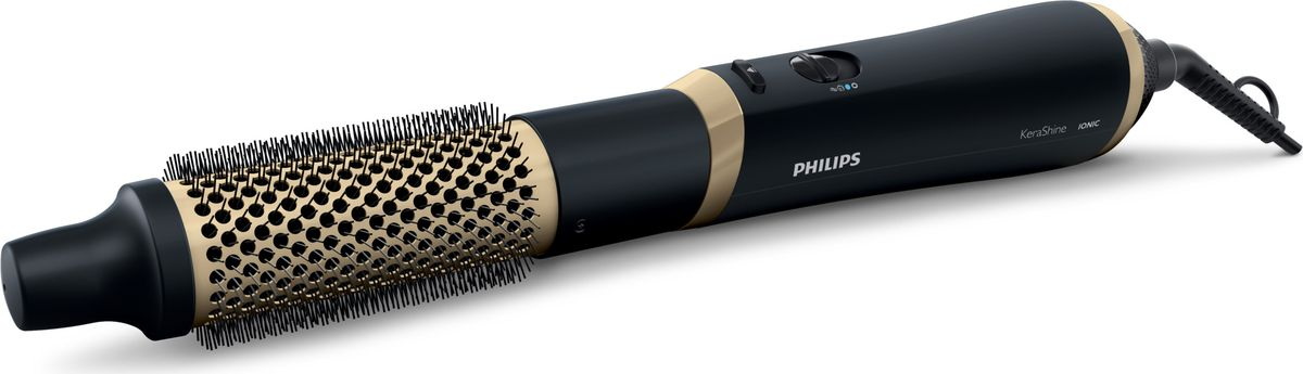 Philips KeraShine HP8667/00 фен-щетка лак