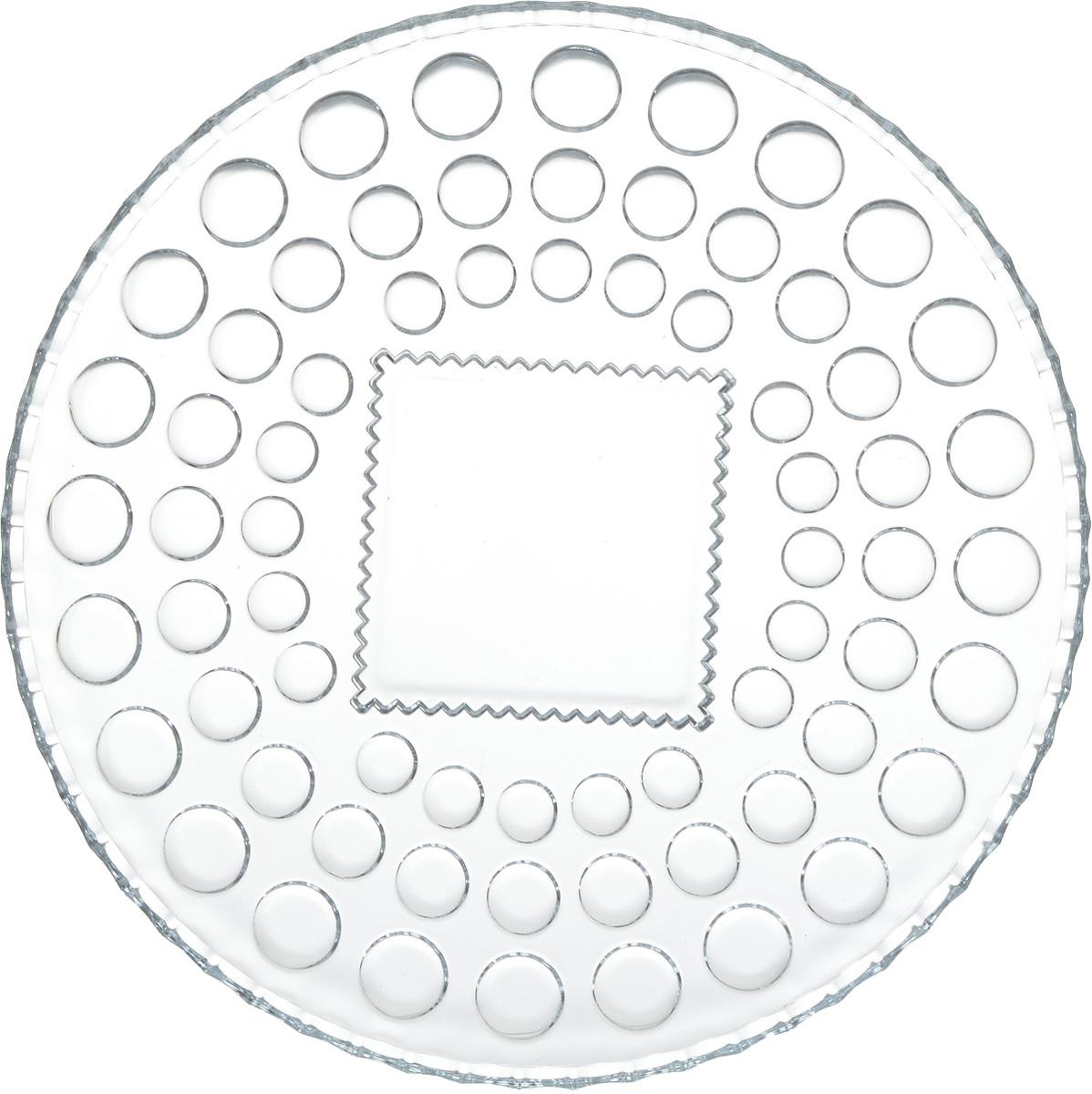 """Блюдо на ножке Isfahan """"Semiramis"""", выполненное из высококачественного стекла, оригинально  украсит праздничный стол и поможет красиво расположить торт или пирог. Блюдо с рифлеными  краями установлено на изящную ножку.  Такое изделие из иранского боросиликатного  стекла - новый тренд на рынке посуды. Оно легче хрусталя, но при этом выглядит достаточно  """"хрустально"""": те же грани, узоры, преломление света, блики, прозрачность, плавность краев и  устойчивость дна."""