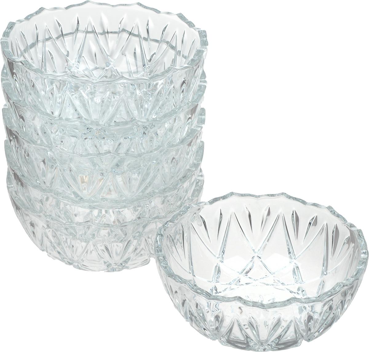 Набор салатников Isfahan Orkideh, диаметр 12 см, 6 шт645Салатник Isfahan Orkideh, изготовленный из стекла, прекрасно подойдет для подачиразличных блюд: закусок, салатов или фруктов.Такое изделие из иранского боросиликатногостекла - новый тренд на рынке посуды. Оно легче хрусталя, но при этом выглядит достаточнохрустально: те же грани, узоры, преломление света, блики, прозрачность, плавность краев иустойчивость дна.Такой салатник украсит ваш праздничный или обеденный стол, аоригинальный дизайн придется по вкусу и ценителям классики, и тем, кто предпочитаетутонченность и изысканность.Набор состоит из 6 салатников.