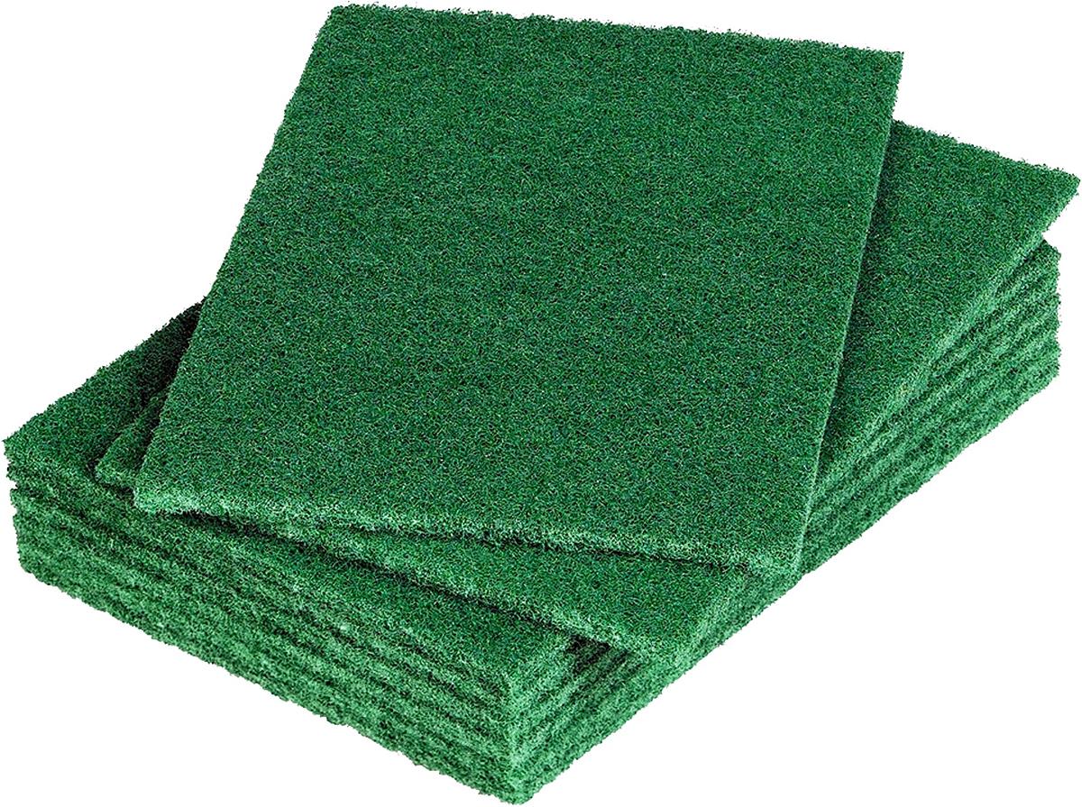 Губка для мытья посуды Arix, абразивная, цвет: зеленый, 10 штARP1214Профессиональные губки из прорезиненного полиамида с абразивными ингредиентами (кварц) для усиления чистящего эффекта и продления срока службы даже после многократного использования. Данная губка имеет среднюю абразивность.