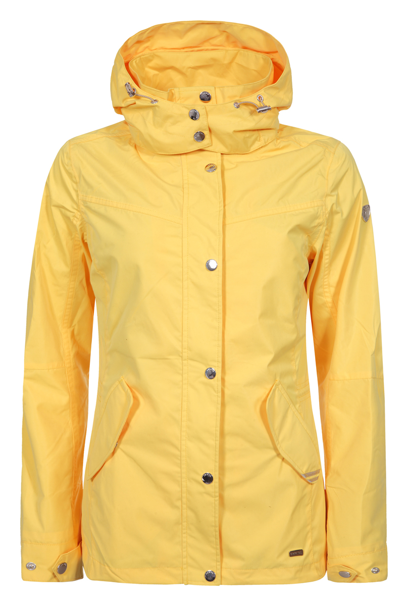 Куртка женская Luhta, цвет: желтый. 939435330LV_410. Размер 40 (48)939435330LV_410