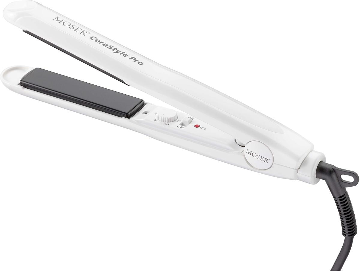 Moser CeraStyle Pro, White Black 4417-0051 выпрямитель для волос - Выпрямители и щипцы для волос
