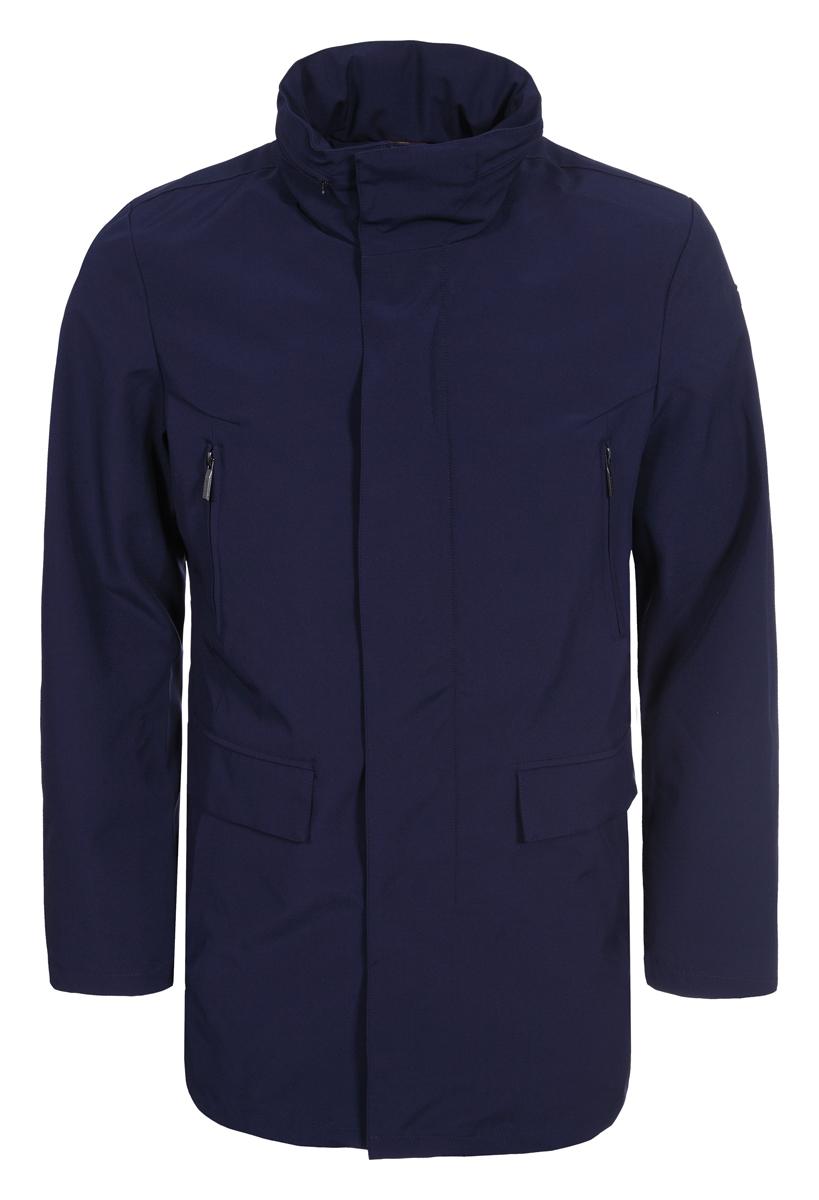 Купить Пальто мужское Luhta, цвет: темно-синий. 939538552LV_387. Размер 54