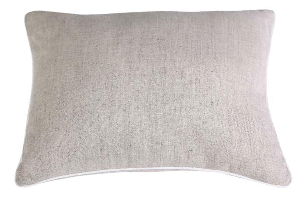 Подушка Bio-Textiles Сила природы, наполнитель: лузга гречихи, чехол: лен + хлопок, 40 х 60 см. SP330SP330