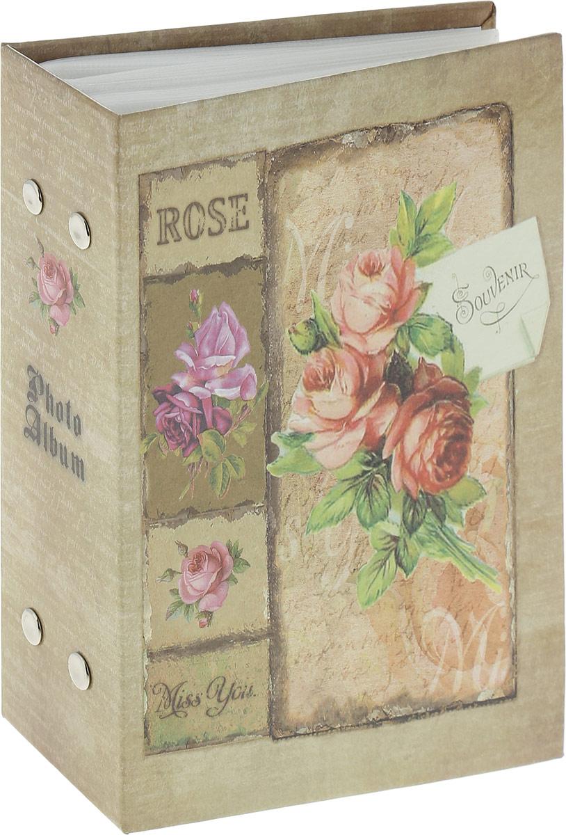 Фотоальбом Platinum Букет. Красная роза, 100 фотографий, 10 x 15 смPP-46100S Букет (12418)_красная розаФотоальбом Platinum Букет. Красная роза, 100 фотографий, 10 x 15 см