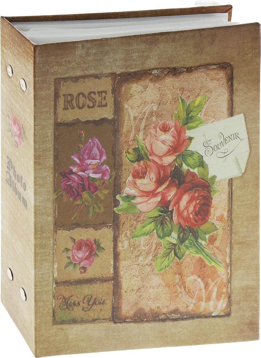 Фотоальбом Platinum Красная роза, 200 фотографий, 10 x 15 смPP-46200S Букет (22418)_красная розаФотоальбом Platinum Красная роза, 200 фотографий, 10 x 15 см