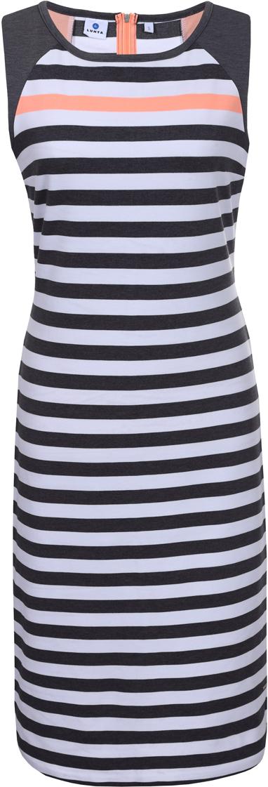 Платье Luhta, цвет: серый. 939283311LV_928. Размер L (48)939283311LV_928