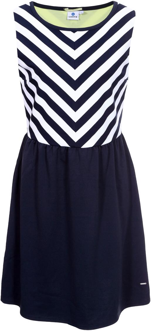 Платье Luhta, цвет: темно-синий. 939282311LV_387. Размер L (48) платья trendy tummy платье