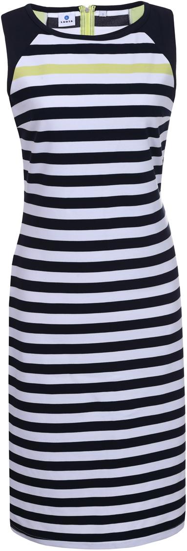 Платье Luhta, цвет: темно-синий. 939283311LV_938. Размер L (48) платье luhta luhta lu692ewauhr7