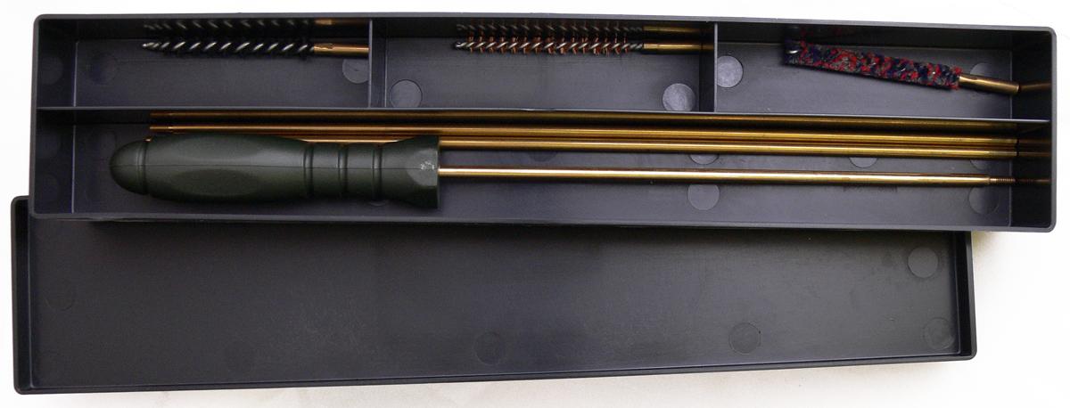 Набор щеток для чистки пневматического оружия  Nimar, калибр 4,5 мм, 4 предмета